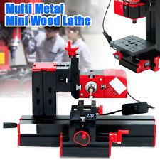 6IN1 Mini Multipurpose Multifunction DIY Wood Metal Drill CNC Lathe Sanding Kit