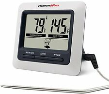 Internal Meat Thermometer Digital Cooking Food Smoker Grill Oven BBQ