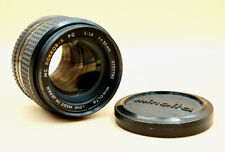 MINOLTA MC ROKKOR-X PG 50mm 1.4 Prime Portrait Lens for MINOLTA MD SLR fit