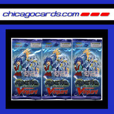 Cardfight Vanguard King of Knights Booster 5card Pack ENGLISH Edition 3-pack Lot