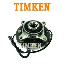 Ford F-150 2004-2005 4WD Front Wheel Bearing and Hub Assembly With Sensor Timken