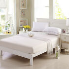 NEW SOFT FABRIC ZIPPERED MATTRESS COVER, BED BUG PROTECTOR HYPOALLERGENIC COVER