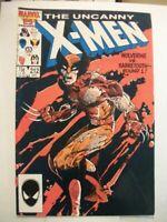 Uncanny X-Men #212,FN 6.0, Wolverine vs Sabretooth Round 1