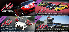 Assetto Corsa + Dream Packs (1+2+3) Steam Key (PC)  - REGION FREE  -