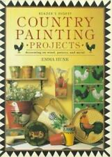 Country Painting Projects: Decorating on Wood, Pottery, and Metal Hunk, Emma Ha