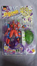 Spider-man Web Trap 1997 Future Spidey Toy Biz