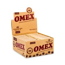Omex Rolling Papers and Tips Kingsize Full Box of 24
