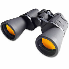 NEW 10x50 BINOCULARS LIGHTWEIGHT WITH CASE/CAPS 10 x 50 RUBY COATED LENS LENSES