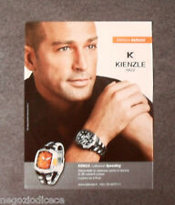 [GCG]  P523 - Advertising Pubblicità -2006- KIENZLE 1822,TEST STEFANO BETTARINI