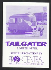 1973 Purple People Pleaser Brochure Minnesota Vikings Pro-Central Promotion