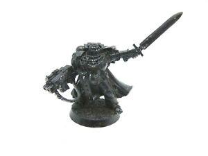 Warhammer 40k Space Marines Captain Sergeant Hero Metal OOP Power sword