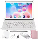 """2 in 1 Tablet W/ Keyboard, Android Tablet 10"""" 1080P Full HD Touch, High Performa"""