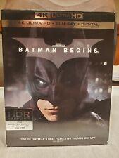 Batman Begins (4K Ultra Hd Blu-ray/Blu-ray/No Digital)
