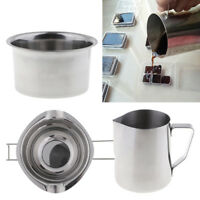 3x Stainless Steel Wax Melting Pot Pitcher Double Boiler for Candle Making
