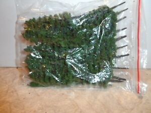 HO SCALE PINE TREES  3.25 IN. TALL  LOT OF 20 PCS.  N.I.P.