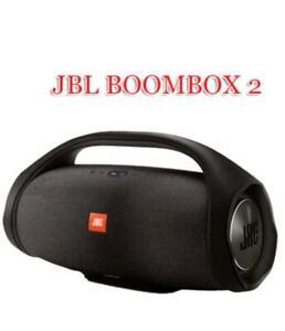JBL Boombox 2 Portable Bluetooth Speaker Waterproof Loudspeaker - Black