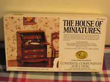 The House Of Miniatures Chippendale Desk, Doll House #40017 Open Box Item