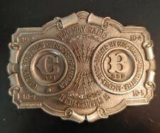 CB Radio Operators of America Belt Buckle