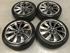 "18"" USED WOLFRACE ALLOY WHEELS  FORD FOCUS ST MONDEO VOLVO 5x108"