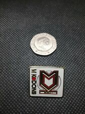 MK Dons pin badge Quality hard enamel New