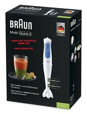 BRAUN MULTIQUICK 3 HAND BLENDER MQ3000 SMOOTHIE