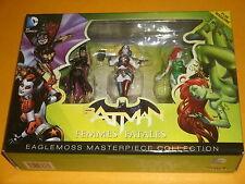Batman 'FEMMES FATALES' Eaglemoss Masterpiece Harley Quinn,Batgirl,Poison Ivy