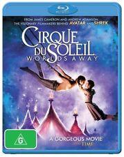 Cirque Du Soleil - Worlds Away - Blu Ray Region B Brand New Free Shipping