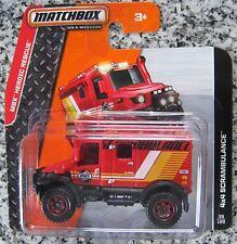 4x4 Scrambulance Ambulance  Matchbox 39/120  Maßstab 1:64  OVP  NEU