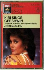 KIRI SINGS GERSHWIN Dame Kiri Te Kanawa EMI 4DS-47454 (1st Ed. XDR cassette) NM