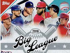 2018  Topps  Big League Baseball Complete Your set  ( Choose 20 )