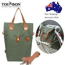Tourbon Bike Single Pannier Cycling Rack Bag Shoulder Pack Classic Case AU Post