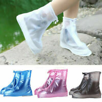 4-Color Waterproof Reusable Rain Shoes Overshoes Anti-slip Boot Protector BagTJC