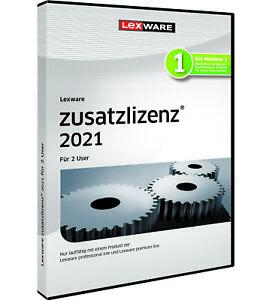 Lexware Zusatzlizenz 2021 ~ 2 user vom Fachhändler