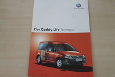 174241) VW Caddy Life - Tramper - Prospekt 10/2005