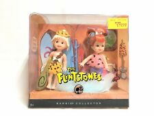 Barbie Flintstones Pebbles & Bamm Bamm Kelly Tommy Doll Silver Label in Box
