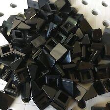 Lego 1x1x2/3  Black Mini Slopes Roof Tile Bricks Smooth Finishing 50pcs 54200