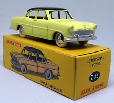 Atlas Dinky Toys Reproduction - 24 Z Simca Versailles Yellow Diecast Model Car