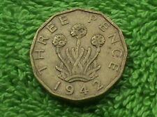 GREAT BRITAIN 3 Pence 1942