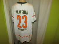 "Werder Bremen Nike Trikot 2009/10 ""SO GEHT BANK HEUTE"" + Nr.23 Almeida Gr.XXL"
