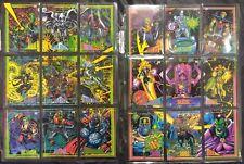 1993 Marvel trading cards, Marvel comics, Avengers, X-Men, 1990's