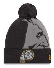 "Washington Redskins New Era Youth NFL ""JR Logo Whiz 3 Gray"" Cuffed Knit Hat"