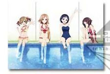 Sword Art Online Girls at the Pool Poster Ichiban Kuji 2 E Prize Anime MINT