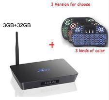 X92 Android 7.1 Smart TV BOX Octa Core Amlogic S912 Wifi 4K BT4.0 IPTV 3GB 32GB