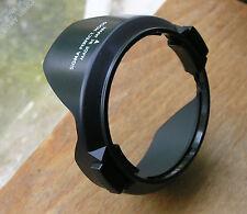 earlier Sigma wide  24mm Petal Lens Hood 52mm clip in