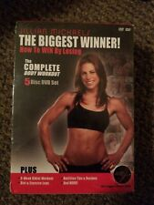 JILLIAN MICHAELS THE BIGGEST WINNER! Full body workout, DVD 5 DISC SET, NEW