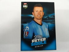 2017/18 TAP N PLAY BBL BASE CARD NO.010 PETER SIDDLE ADELAIDE STRIKERS