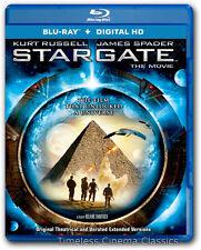 Stargate Movie New Blu ray Disc Kurt Russell James Spader