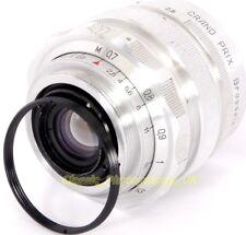 LEICA M39 Para Pentax M42 Ajuste Adaptador Para Zenit M39 35mm lentes SLR en cámaras M42
