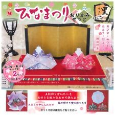 Japanese Hina Dolls Matsuri Origami Paper Craft Kit Set w/ Instructions