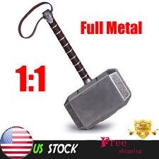 Full Metal CATTOYS 1:1 The Avengers Thor Hammer Replica Props Mjolnir Gift